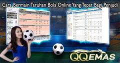Cara Bermain Taruhan Bola Online Yang Tepat Bagi Penjudi